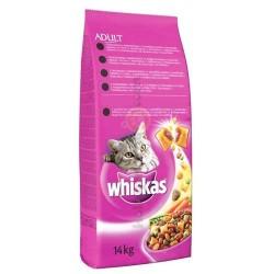 Whiskas - Whiskas Tavuklu ve Sebzeli Kedi Maması 14 Kg