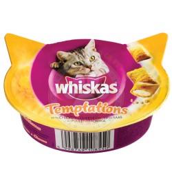 Whiskas - Whiskas Temptations Tavuk ve Peynirli Kedi Ödülü 60 Gr