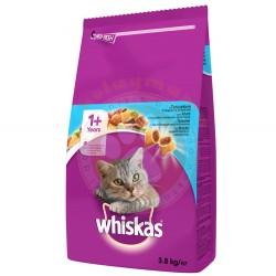 Whiskas - Whiskas Ton Balıklı ve Sebzeli Kedi Maması 3,8 Kg