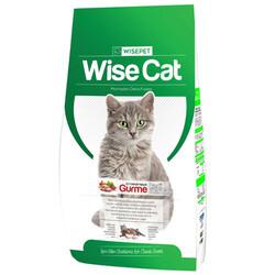 Wise Cat - Wise Cat Gourmet Et, Tavuk ve Balıklı Kedi Maması 15 Kg