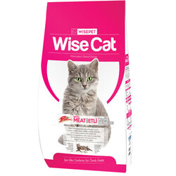 Wise Cat - Wise Cat Meat Etli Yetişkin Kedi Maması 15 Kg