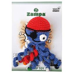 Zampa - Zampa 1078 Örgü Ahtapot Kedi Oyuncağı