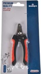Zampa - Zampa ZT0289 Kedi ve Köpek Tırnak Düzeltme ve Kesme Makası 12.5 x 4 Cm Siyah / Kırmızı