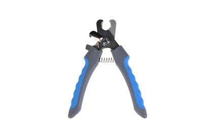 Zampa ZT0876 Kedi ve Köpek Tırnak Düzeltme ve Kesme Makası 12.5 x 4 cm Mavi / Gri