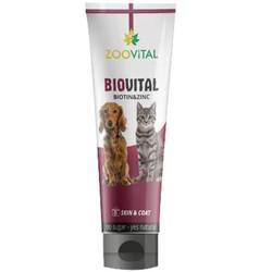 Zoo Vital - Zoo Vital Biovital Tüy Sağlığı Vitamin Kedi ve Köpek Macunu 100 Gr