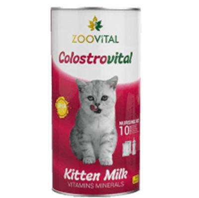 Zoo Vital Kitten Milk Kedi Süt Tozu Kiti (2x100 Gr+Biberon Seti)